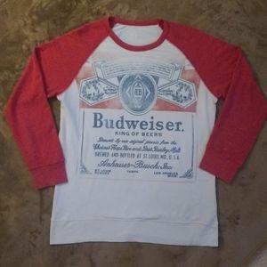 Budweiser distressed sweatshirt